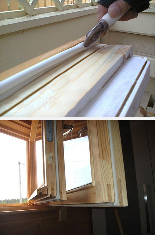 Утепление деревянных окон